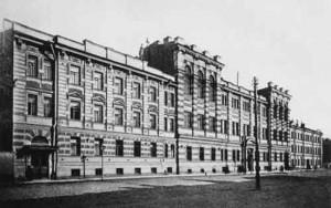 Здание высших женских (бестужевских) курсов