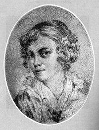 Маша Протасова. Рисунок В. Жуковского
