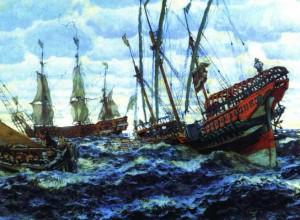 Морской флот при Петре Великом