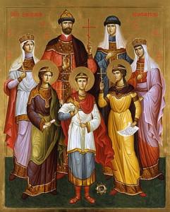 Российские новомученики. Икона