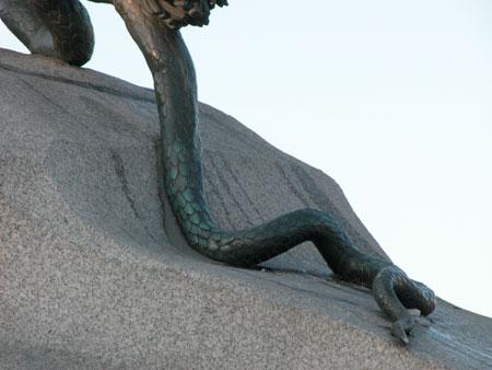 "Фальконе ""Памятник Петру I"" (фрагмент)"