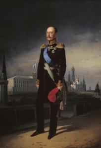 """Е. Ботман """"Портрет императора Николая I"""""""