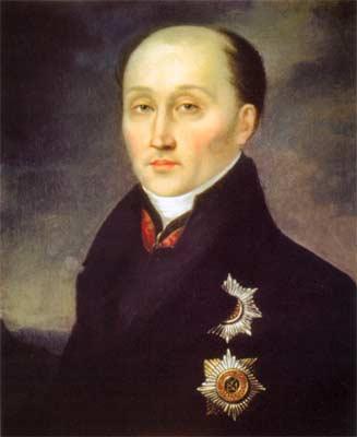 М.М. Сперанский. Портрет неизвестного художника