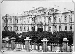 Пажеский корпус (Воронцовский дворец)