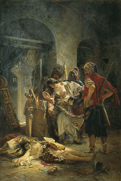 """К. Маковский """"Болгарские мученицы"""""""