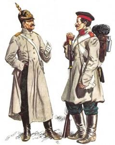 Русская пехота: офице и солдат Крымской войны