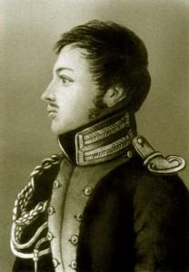 Портрет П. Пестеля работы его маетри Е.И. Пестель