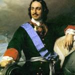 П. Деларош Петр I