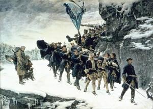 """Г. Седерстрем """"Траурная процессия с телом Карла XII"""""""