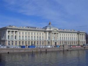 Здание императорской Академии художеств
