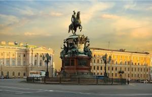 Памятник Николаю I в Петербурге