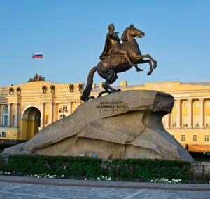 """Фальконе """"Памятник Петру I"""""""