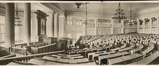 Зал заседаний Государственной Думы в Таврическом дворце, Санк-Петербург