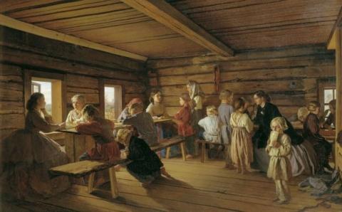 19 century russian spanking - 3 6