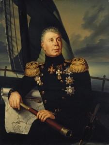 И.Ф. Крузенштерн, выпускник Морского корпуса