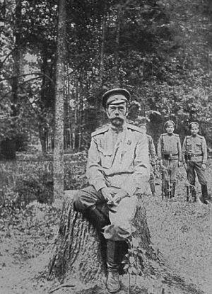 Николай II в 1917 году