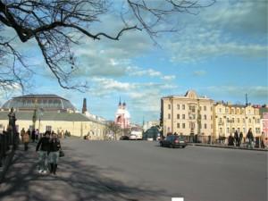 Улица Пестеля в Петербурге (от Летнего сада)
