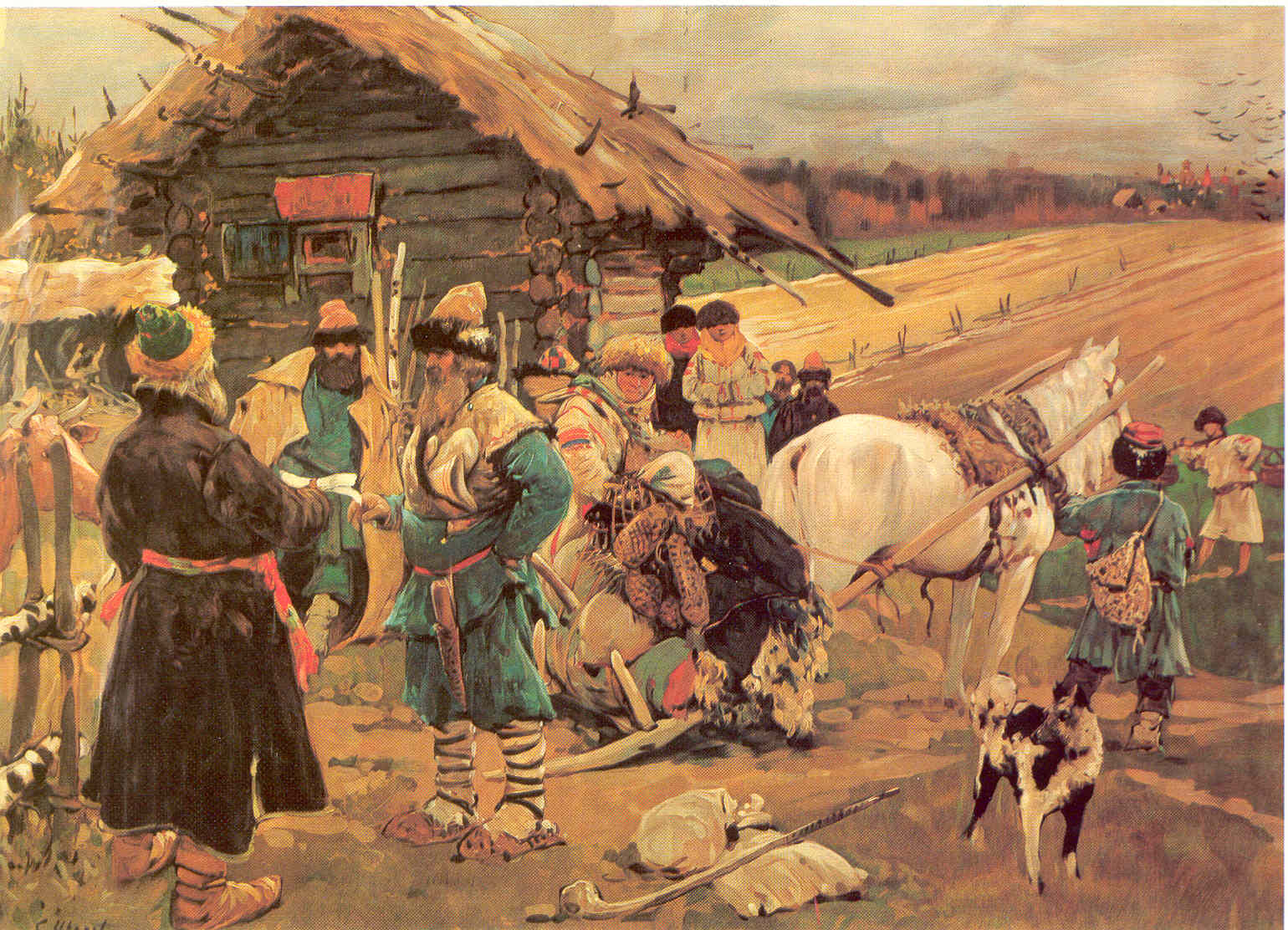 крепостное право в россии истоки