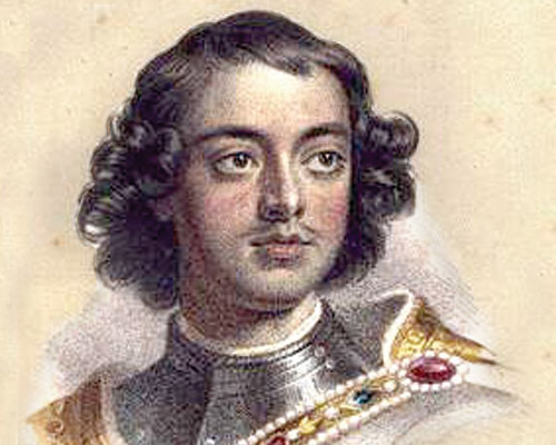 Первый русский император История Российской империи Юный Петр